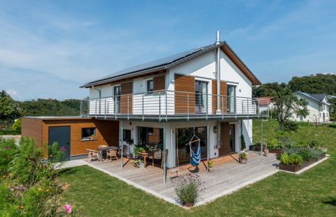 neues Holzhaus bauen