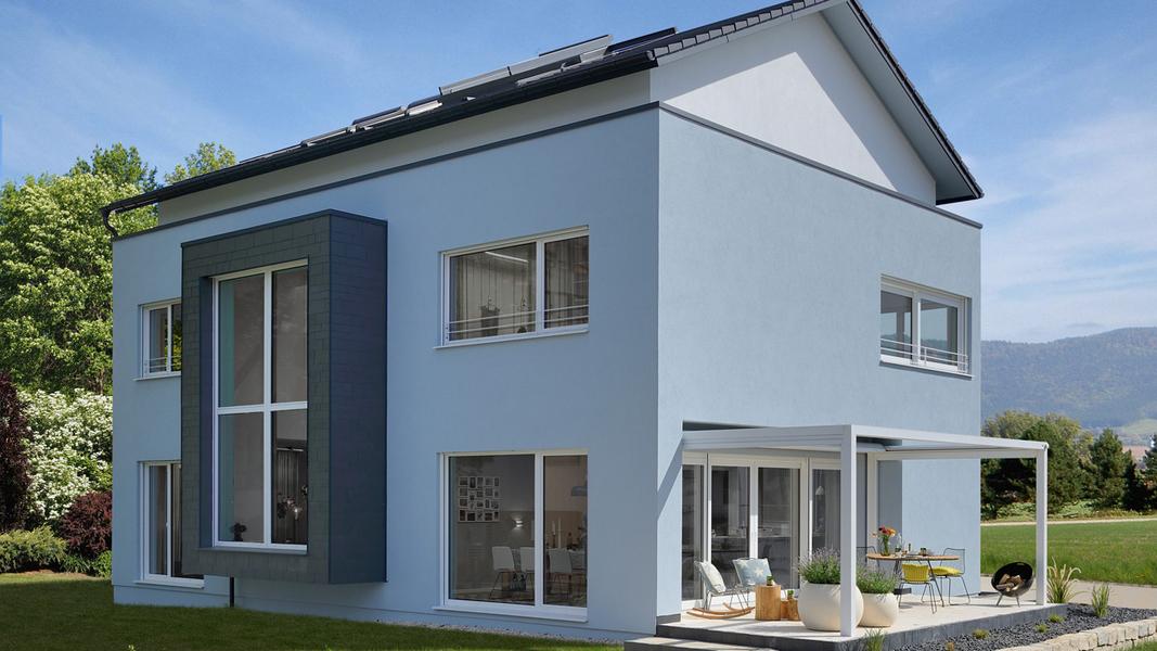 Keitel haus mit neuem musterhaus in fellbach holzhaus bauen for Haus bauen muster