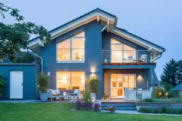 Günstiger bauen mit KfW-Förderung - Holzhaus bauen