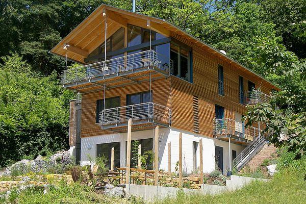 Holz-Lehm-Häuser