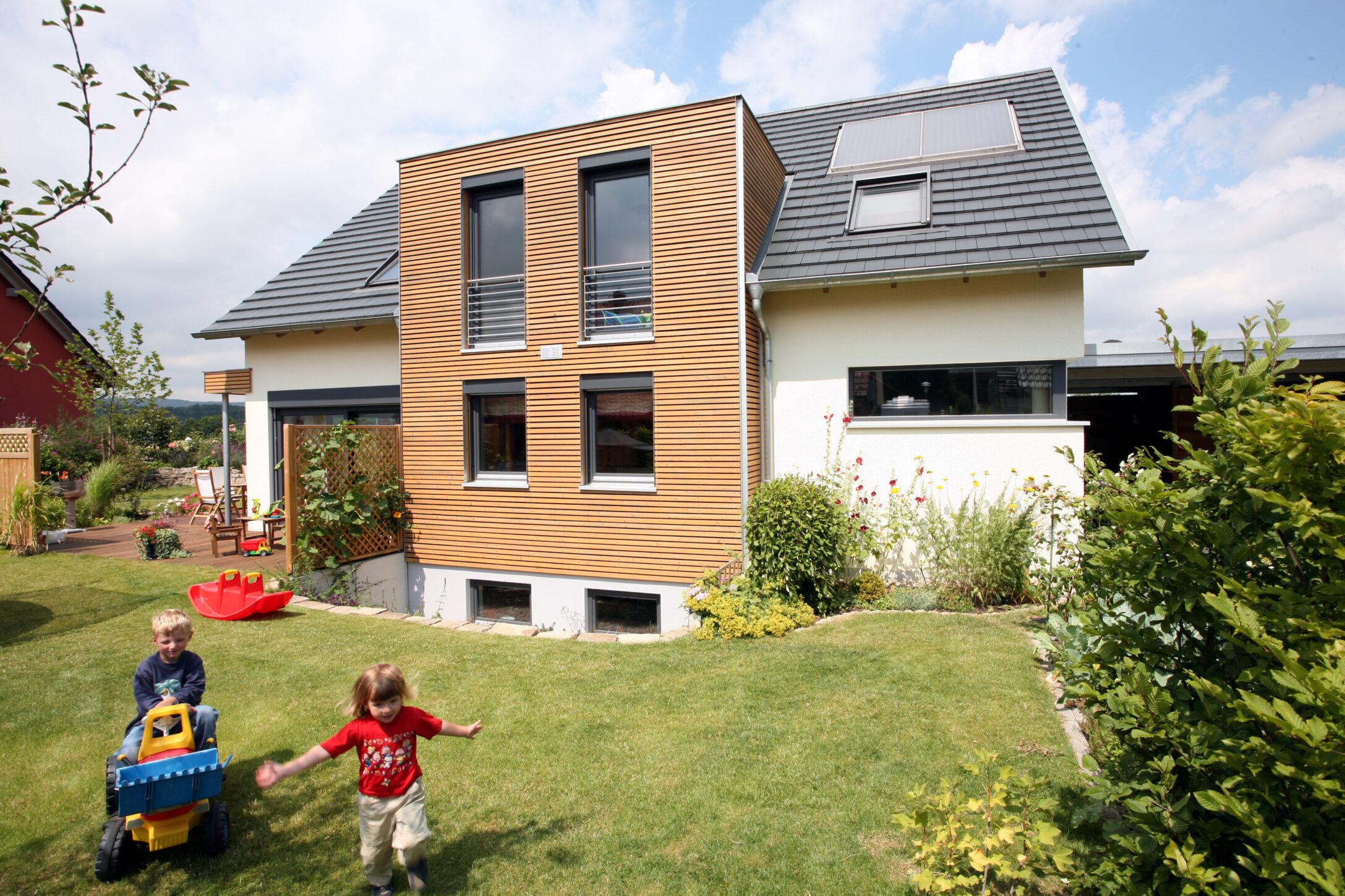 Bundesförderung Holzhäuser